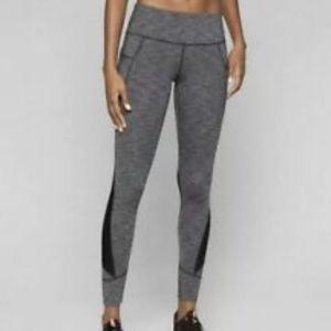 Athleta Relay Tight 2.0 Black Heather Yoga Run MED